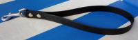 Kurzführer 25cm bis 60cm schwarz aus 19mm breitem BioThane Material